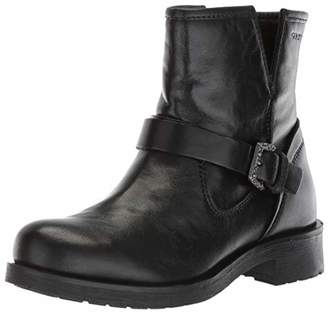 Geox Women's Rawelle 1 Buckle Biker Boot Ankle