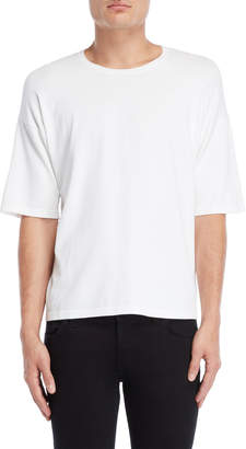 Roberto Collina Solid Elbow Sleeve Tee
