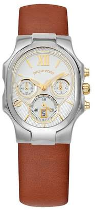 Philip Stein Teslar Large Classic Watch, 43mm