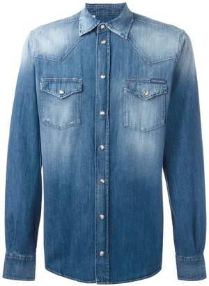 Dolce & Gabbana faded denim shirt