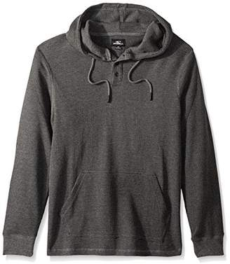 O'Neill Men's Thermal Hoodie Henley Shirt