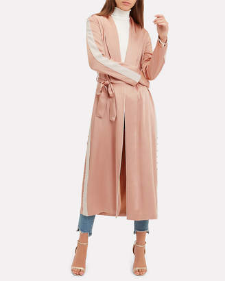 Jonathan Simkhai Blush Satin Robe