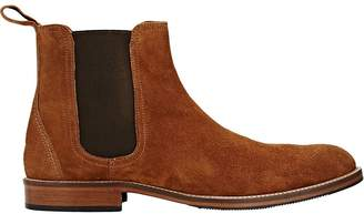 Barneys New York Men's Suede Chelsea Boots