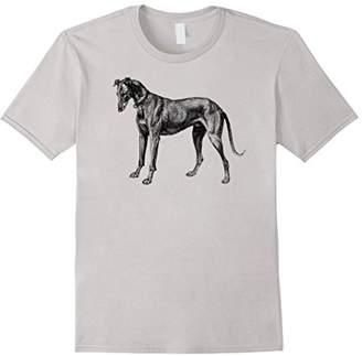 Mintage Greyhound Etching T-Shirt