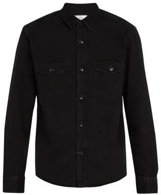 Ami - Denim Overshirt - Mens - Black
