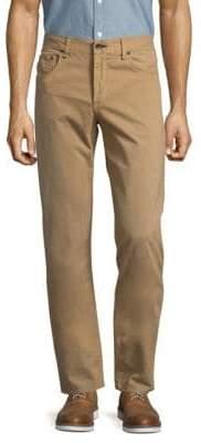 Rag & Bone Slim Straight-Leg Twill Pants