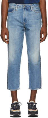 Levi's Levis Made and Crafted Blue Draft Taper Jeans