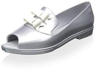 Melissa Women's Brogue Karl Lagerfeld Open Toe Loafer Slide