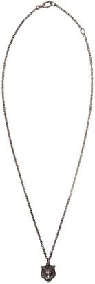Gucci Silver Tiger Necklace $350 thestylecure.com