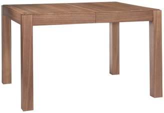 Drio 4-10 seat walnut extending dining table
