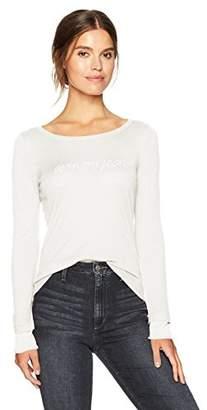 Armani Jeans Women's Logo Long Sleeve Tshirt