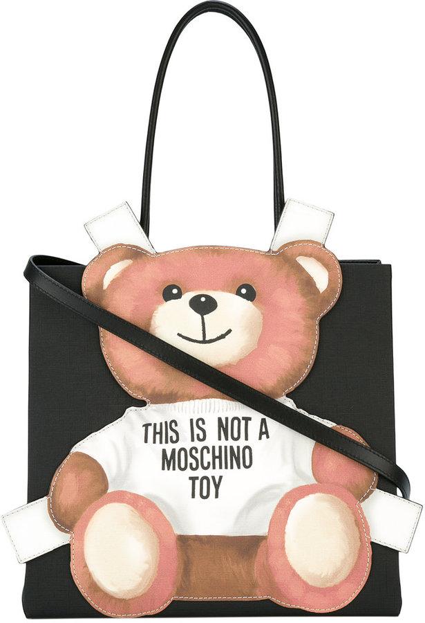 MoschinoMoschino teddy bear tote bag