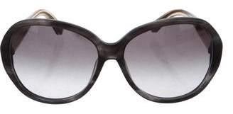 Calvin Klein Collection Gradient Oversize Sunglasses