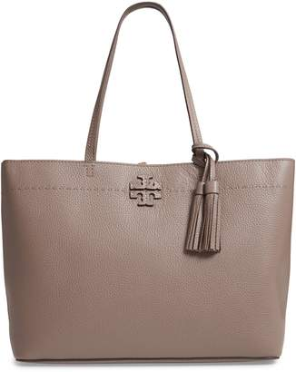 Tory Burch McGraw Leather Laptop Tote