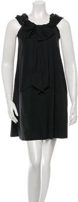 Jean Paul Gaultier Off Shoulder Mini Dress $95 thestylecure.com