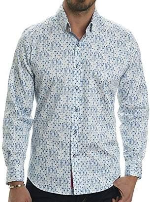 Robert Graham Men's Rodney L/s Tailored Fit Woven Sport Shirt
