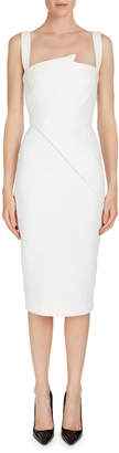 Roland Mouret Hutton Pinched Top Sundress