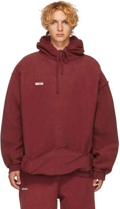 Vetements Red Shark Inside-Out Hoodie