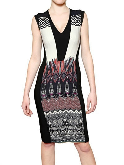 Etro Printed Viscose Cady Dress