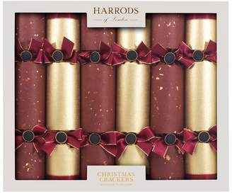 Harrods Traditional Christmas Crackers (Box of 6)