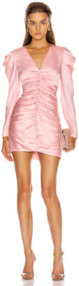 Jonathan Simkhai Puff Sleeve Dress in Cherry Blossom | FWRD