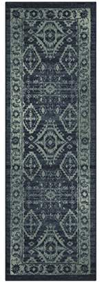 Maples Rugs Runner Rug - Georgina 2 x 6 Non Skid Hallway Carpet Entry Rugs Runners [Made in USA] for Kitchen and Entryway
