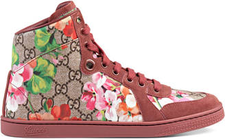 GG Blooms high-top sneaker $690 thestylecure.com