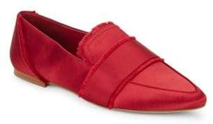 424 Fifth Hayden Satin Loafers