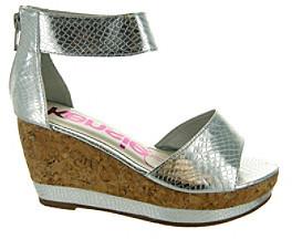 """KensieGirl Girls' """"Patty"""" Ankle Strap Wedge Sandals"""