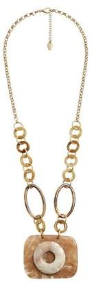Violeta BY MANGO Mixed chain necklace