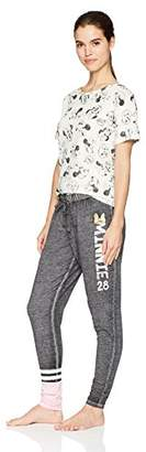 Disney Women's Minnie Mouse 2pc Pajama Pant and Tee Set