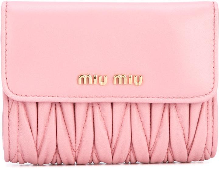Miu MiuMiu Miu quilted purse