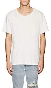 NSF Men's Patch-Pocket Cotton T-Shirt-White