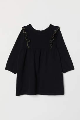 H&M Ruffled Dress - Black