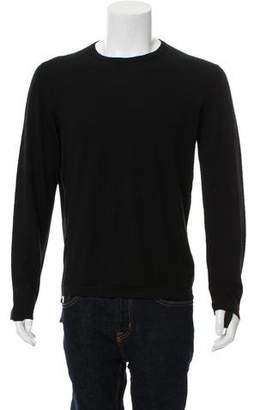 Helmut Lang 2003 Cashmere Side-Zip Bondage Crew Neck Sweater