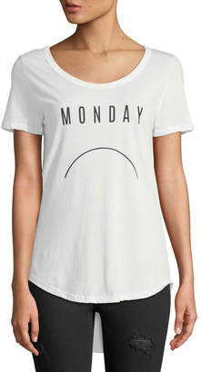 Knit Riot Monday Frown Short-Sleeve Tee