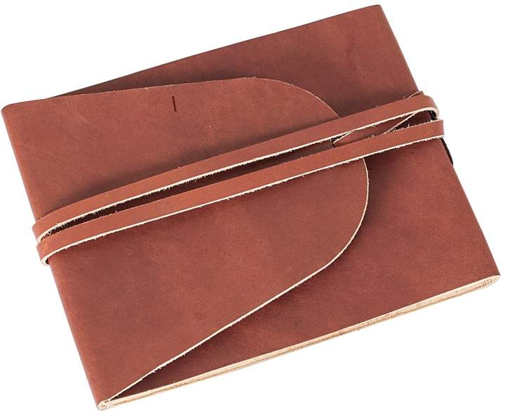 Cathys Concepts Monogram Leather Journal Guestbook