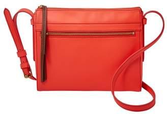 Fossil Felicity Crossbody Handbags Neon Red