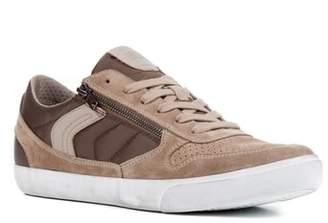 Geox Box 33 Low Top Zip Sneaker