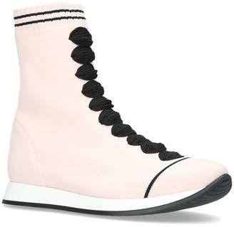 Fendi Knitted Sock Boots