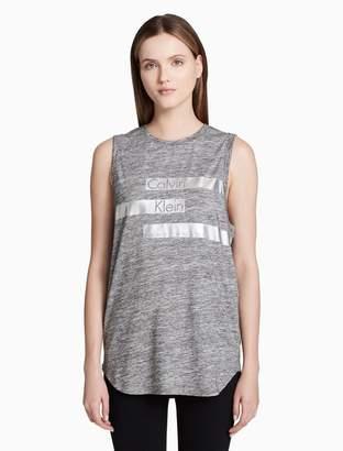 Calvin Klein logo oversized tank top