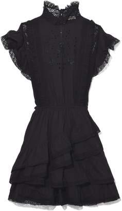 Ulla Johnson Holly Dress in Noir