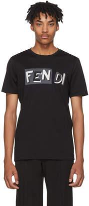 Fendi Black Vocabulary T-Shirt
