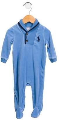 Ralph Lauren Infants' Velvet All-In-One