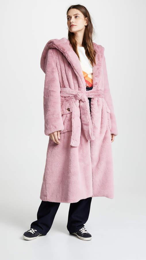 Stella Faux Fur Coat