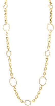"Reiss Gumuchian 18K Yellow Gold Carousel Diamond Convertible Necklace & Bracelet, 36"""