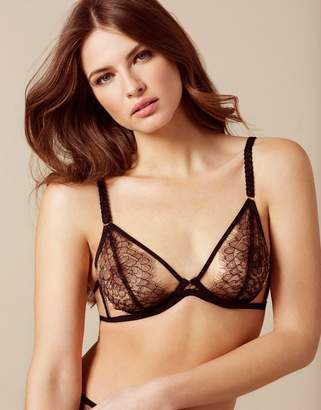 Agent Provocateur Fantazia Bra Nude And Black