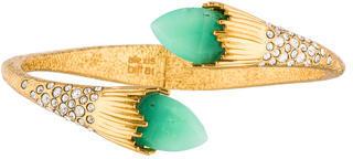 Alexis BittarAlexis Bittar Crystal Hinged Bracelet