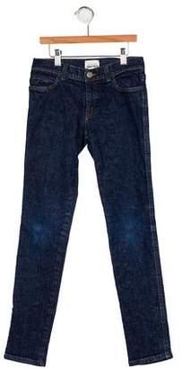 Gucci Boys' Web-Trimmed Five Pocket Jeans