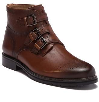 Robert Graham Malden Leather Buckle Boot
